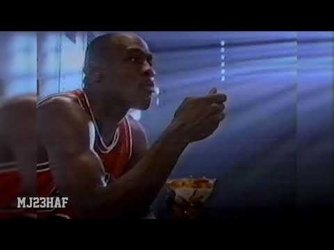 Michael Jordan Wheaties Commercial 1992