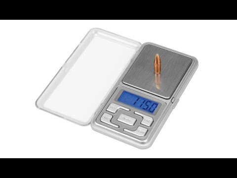 Frankford Arsenal DS 750 Digital Scale unboxing, setup, test, review!
