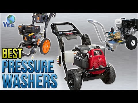10 Best Pressure Washers 2018