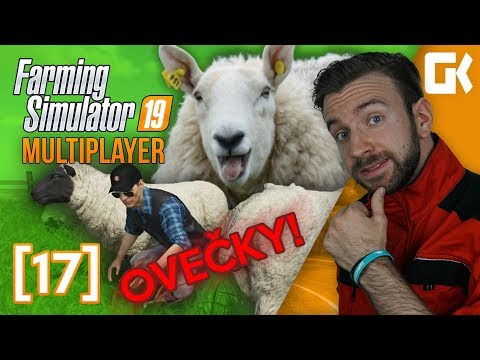 OVEČKY! | Farming Simulator 19 Multiplayer #17