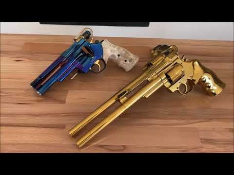 korth-germany: Test and video: Korth Twin Classic revolver – Two is better than one