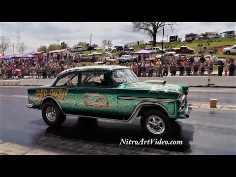 Southeast Gassers Association at Shadyside Dragway – 6 - смотреть