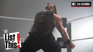 30 datos que debes saber sobre Roman Reigns: WWE List This!