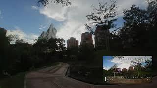 Eachine Cvatar 6s - Insta360 Go and FPV Feed - Exploring Pandora Park - Bucaramanga - Colombia