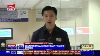 BMKG 115 Lokasi Di Indonesia Terdampak Tsunami Chile