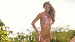 Kate Bock Masters Strategic Body Covering | CANDIDS | Sports Illustrated Swimsuit