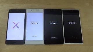 Sony Xperia X Performance Vs. Xperia Z5 Vs. Xperia Z3+ Vs. Xperia Z1 - Which Is Faster?!