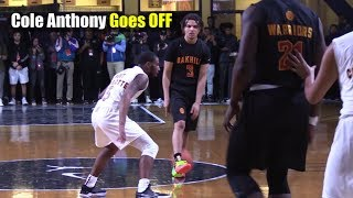Cole Anthony SHOWS WHY He