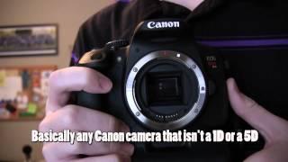 How to Attach a Lens