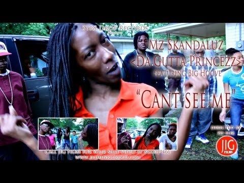 "Mz Skandaluz ""Cant see me"" promo video directed by @jigalowceo"