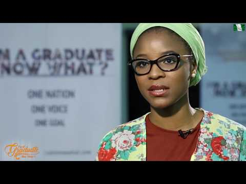 I'm A Graduate,Now What? Video Highlight: Aisha Augie-Kuta