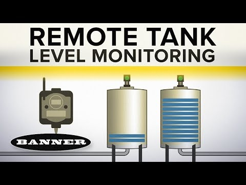 Remote Tank Level Monitoring for Industrial Applications