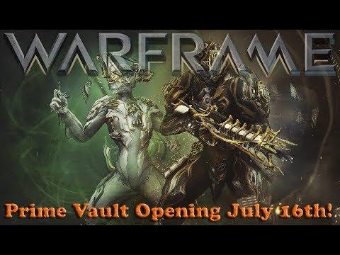 Warframe - Prime Vault Opening July 16th!
