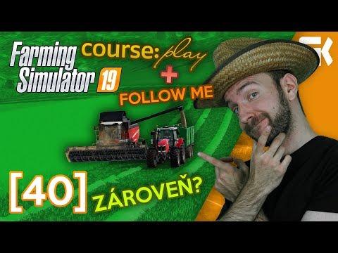 COURSEPLAY & FOLLOW ME ZÁROVEŇ? | Farming Simulator 19 #40