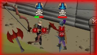 Dbow and Dragon Thrownaxe PKing in PvP Worlds |Road to Dragon Claws(R2D ep7)| (OSRS)