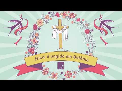 Jesus é ungido em Betânia - Mariú Madureira