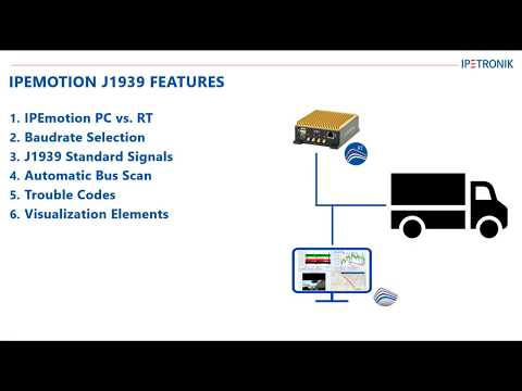 Youtube Video IPEmotion 2020 R1 - Newly implemented J1939 Features