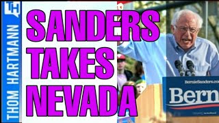Bernie Wins Nevada but News Acts Like the World Is Ending