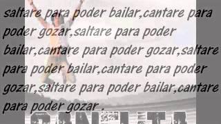 Canelita 2015 Letra Saltare