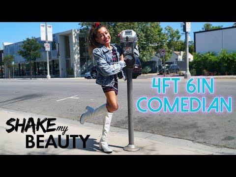 Comedian With Spina Bifida Has Last Laugh | SHAKE MY BEAUTY