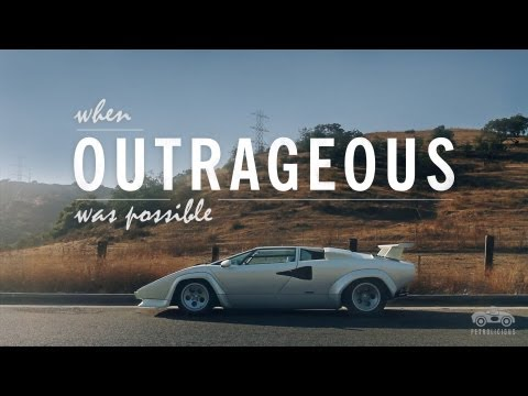 The Outrageous Lamborghini Countach