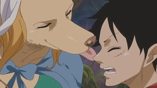 One Piece  Episode 754 Review  Luffy Vs The Mink Tribe  ワンピース