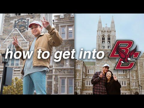 HOW to get into BOSTON COLLEGE (GPA, SAT + ACT SCORES, ESSAYS, ECs, APs)
