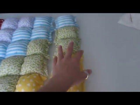 alfombra bebe puff quilt