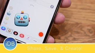 How to Create, Share, and Save Animoji on iPhone X