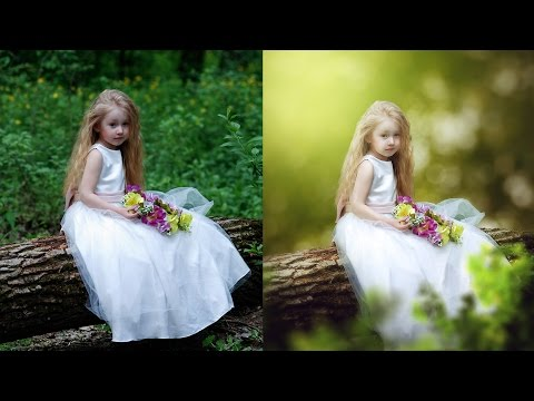 Photoshop CC Tutorial – Fantasy Look Photo Effect Editing | Change Background