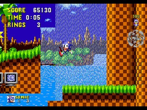 TAS HD: Genesis Sonic the Hedgehog (any,r1) in 14:28,6 by Tee-N-Tee [CAMHACK]