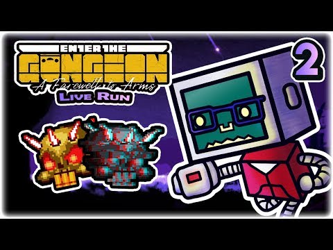 The Glitched Lich (2/2) | Part 2 | Let's Play: Enter the Gungeon: A Farewell to Arms | Twitch VoD