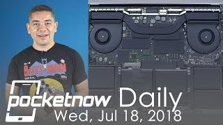 MacBook Pro Core i9 overheat issues, Galaxy S10 design variants & more - Pocketnow Daily