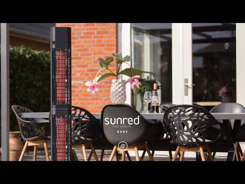 Sunred Royal Diamond Dark Valencia Lounge 3000 terrasverwarmer