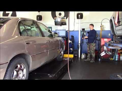 2001 Buick Park Avenue Tire Install and Wheel Alignment