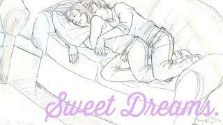 ASMR Boyfriend Roleplay • Sweet Dreams. • ( Unisex ) • ( Sleep Aid ) • ( My Actual Heartbeat )