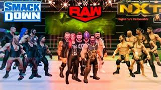 WWE Mayhem Raw Vs NXT Vs SmackDown Finisher Battle.