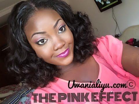 Makeup Tutorial - THE PINK EFFECT
