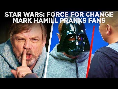 Luke Skywalker trollí fanoušky