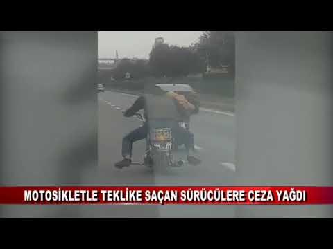 İKİ MOTOSİKLET SÜRÜCÜSÜ YAKALANDI