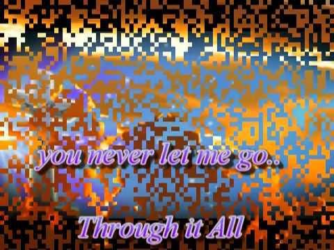 through it all by anne