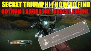 HOW TO GET SECRET TRIUMPH IN ORACLE ENGINE QUEST GUIDE | ODYNOM!