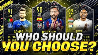 WHO TO CHOOSE FROM LEVEL 15 SEASON REWARDS?! FIFA 20 Ultimate Team