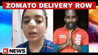 FIR Filed Against Hitesha Chandranee Who Accused Zomato Delivery Boy Kamaraj Of Assault - Download this Video in MP3, M4A, WEBM, MP4, 3GP