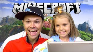 Minecraft - первый letsplay от Miss Katy