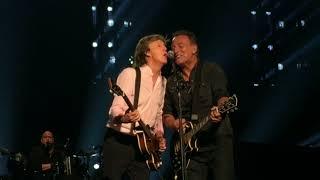 Paul McCartney Jams With Bruce Springsteen <b>Steven Van Zandt</b> Sept 15 2017 MSG