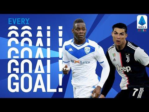 Lazio Hand Juve First Defeat of Season & Balotelli Scores Again! | EVERY Goal R15 | Serie A TIM