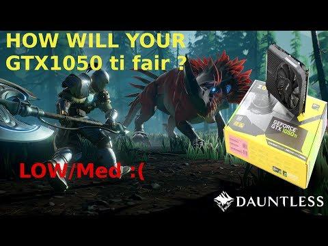 Dauntless Test | Gtx1050-4GB | i5-7300HQ | Acer Nitro 5