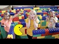 Pac man In A Giant Lego Maze