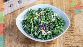 Sweet Kale Salad | Salad Series!